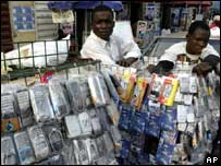 Nigerian phone seller, AP