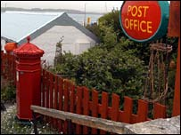 A rural post office