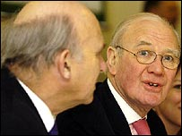 Vincent Cable and Sir Menzies Campbell