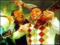 Bobby Moore and Alan Ball