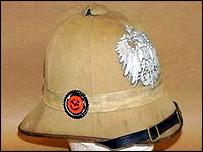 An Imperial German East African sun helmet