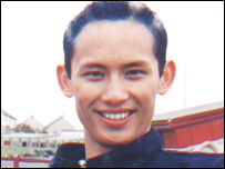Sakchai Makao was jailed in 2004 for starting a fire