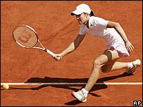 Justine Henin-Hardene, de Bélgica.