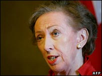 Margaret Beckett.  Image: AFP/Getty