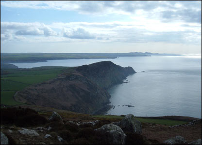 Tim Hordley from Sheffield took this shot of the coastline near Strumble Head, Pembrokeshire