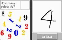 Dr Kawashima's brain training screenshot
