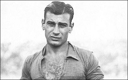 Francisco Varallo en 1930, (Foto gentileza revista El Gráfico)