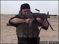 Video allegedly showing Abu Musab al-Zarqawi