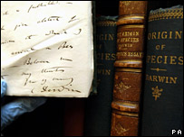 Some of Darwin's books