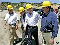 Senators visiting oil shale projects in Colorado