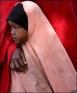 Girl in Kenya