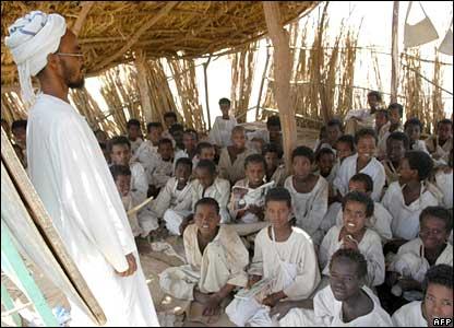 Classroom in eastern Sudan