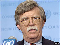 US Ambassador to the UN John Bolton