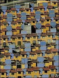 New houses in Mexico City