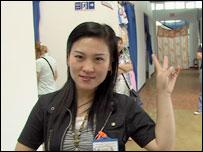 Продавщица-китаянка