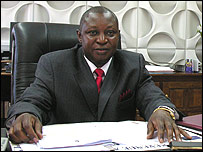 Bank of Zambia governor Caleb Fundanga