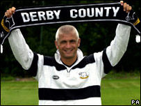 Fabrizio Ravanelli of Derby