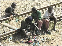 Homeless children in Lusaka