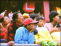 Women and children on Mazu Island, Fujien Province