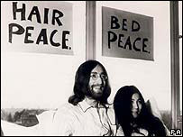 John Lennon's bed-in