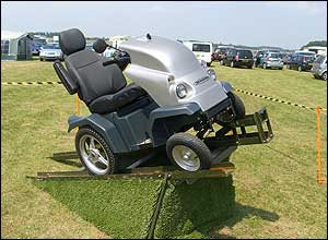Photo of the Tramper all-terrain scooter