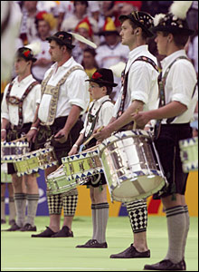 Drummers from Upper Bavaria