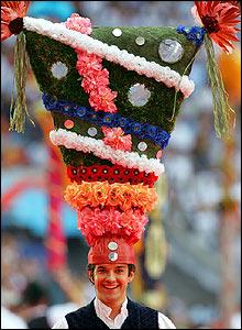 A fantastic hat