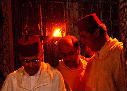 Miembros de una cofradía sufí