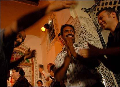 Ceremonia sufí en Fez