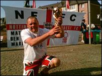 England fan John Trueman