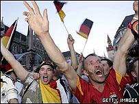 Fans alemanes