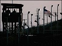 Torre de vigilancia en Guantánamo