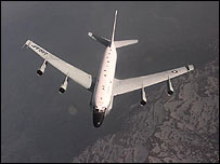 RC-135 Rivet Joint aircraft