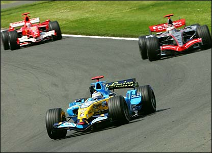 Fernando Alonso gets off to a great start at Sliverstone
