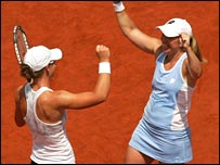 Lisa Raymond and Samantha Stosur