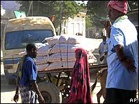 Mogadishu street scene