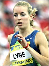 Becky Lyne in action in Gateshead