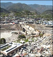 Balakot after the quake