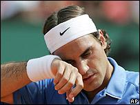 Roger Federer no encuentra la f�rmula para vencer a Nadal.
