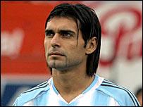 Argentina centre-back Roberto Ayala