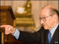 Alan Greenspan, ex presidente de la Reserva Federal de EE.UU.