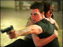 A still from the film Mission: Impossible III