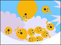 Screenshot of LocoRoco