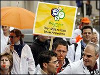 German doctors' protest