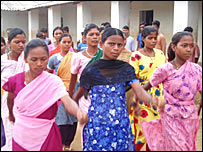 Village women and girls train to counter Maoists