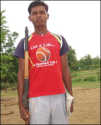 Many villagers are provided and trained in arms