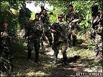 Soldados colombianos (Foto gen�rica).