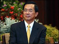 Taiwanese President Chen Shui-bian