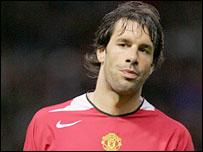 Man Utd striker Ruud van Nistelrooy