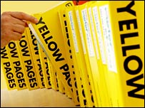 Yellow Pages directories (Picture: Vismedia)